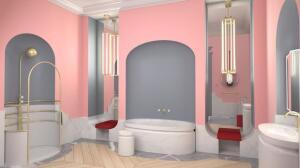 El irresistible baño de Alexis Mabille para Jacob Delafon
