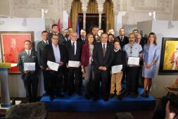 En imágenes: el acto institucional de la Constitución española en Toledo