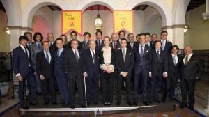Los invitados a la entrega del X Premio Taurino ABC, en imágenes