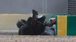 El terrible accidente de Fernando Alonso