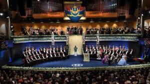 La entrega de los Premios Nobel, en fotos