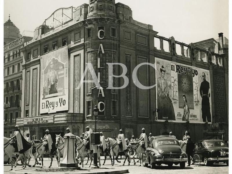 Los cines de Madrid en ABCfoto