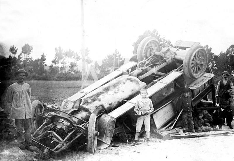 Accidentes de tráfico a principios del S XX