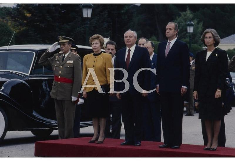 25 años de la visita de Gorbachov