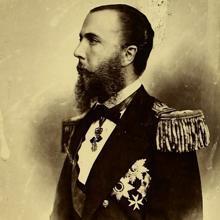 Retrato del emperador Maximiliano I de México, 1864