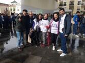 Participantes en la tercera edición de la Gymkhana Pasión en Sevilla