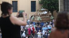 La procesión de la Virgen de Acá, en imágenes