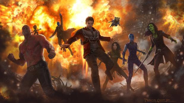 Guardianes de la Galaxia Vol. 2. Todos los personajes de la saga
