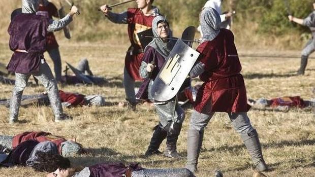 La Batalla de Atapuerca se estrena este año como Fiesta de Interés Turístico