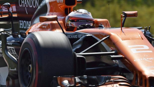 El McLaren, a 88 milésimas del Ferrari en Budapest
