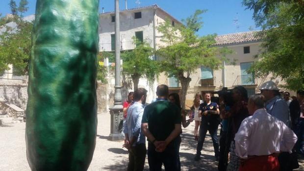 Hendrick's instala en Huete su primer huerto de pepino en España