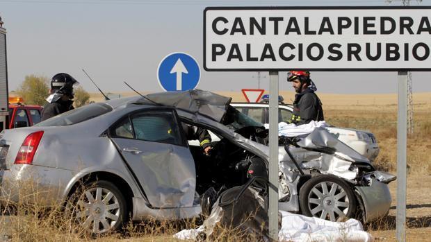 Quince muertos en accidentes de tráfico durante el Puente del Pilar