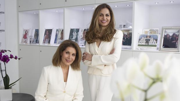 Massi y Nasrim Massumeh, dos décadas cuidando la piel del «star-system»