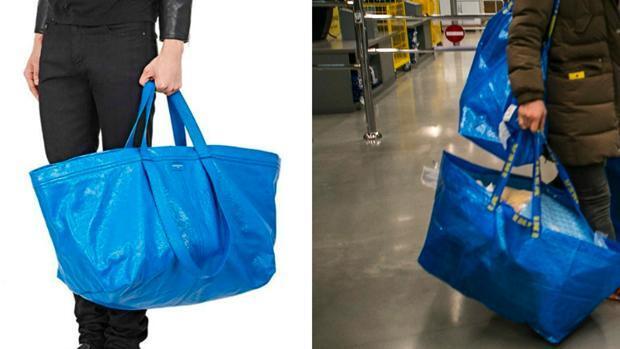El polémico bolso de 1.700 euros de Balenciaga que parece una bolsa de IKEA
