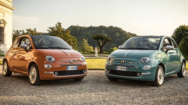 Fiat lanza dos series especiales para celebrar el aniversario del 500, el 500 Aniversario y el 500 Sessantesimo