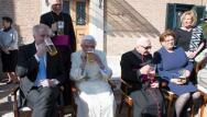 En imágenes, el cumpleaños de Benedicto XVI