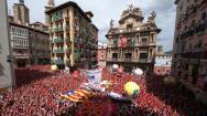 Las mejores imágenes del chupinazo inaugural de San Fermín