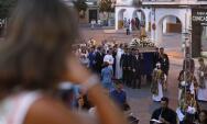 En imágenes, el traslado de la Virgen de la Fuensanta