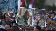 La Habana se despide de Fidel Castro, en imágenes