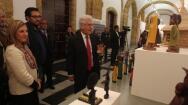 Inauguración de la muestra de belenes 'Noche de Luz' en Diputación