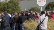 Los extrabajadores se concentran en las puertas de Delphi en el décimo aniversario del cierre