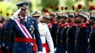 El desfile de las Fuerzas Armadas, en imágenes