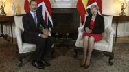 En imágenes: la visita del Rey a Theresa May y al foro empresarial hispanobritánico