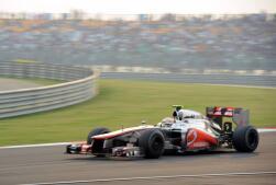 Inevitable victoria de Sebastian Vettel en el Gran Premio de India