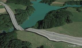 Los paisajes imposibles de Google Earth
