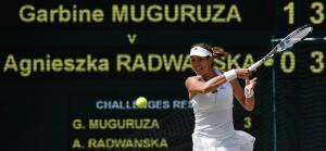 Así ha celebrado Garbiñe Muguruza su pase a la final de Wimbledon