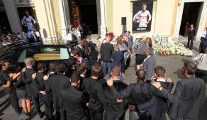Emotivo adiós a Jules Bianchi