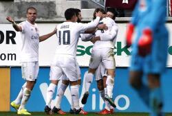 Las mejores imágenes del Éibar-Real Madrid