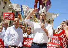 Las imágenes de la penúltima jornada de la campaña electoral