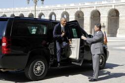 En imágenes: Barack Obama, en su histórica visita a España
