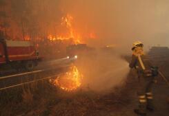 Galicia, en alerta por los incendios