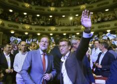 El cierre de campaña de las elecciones gallegas y vascas, en imágenes