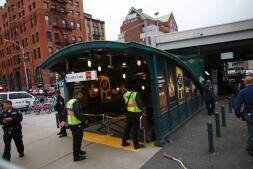 El accidente de tren en Nueva Jersey, en imágenes