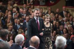 La Reina Letizia, deslumbrante en los Princesa de Asturias