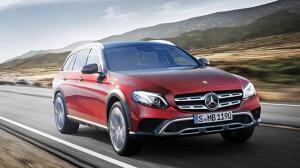 Primeras imágenes del nuevo Mercedes Clase E All-Terrain