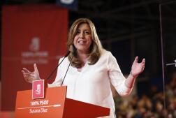 En imágenes, la presentación de la candidatura de Susana Díaz