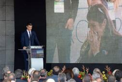 Cristiano Ronaldo inaugura su propio aeropuerto en Madeira, en imágenes