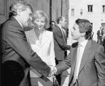 La vida política de Esperanza Aguirre, en imágenes