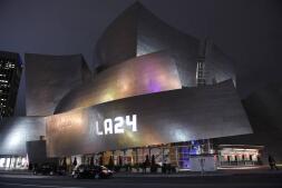 Los Ángeles se ilumina para apoyar la candidatura de los Juegos Olímpicos de 2024