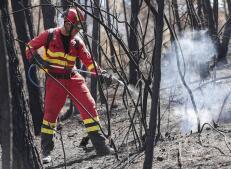 Imágenes: así ha quedado la Sierra Calderona tras el incendio que ha arrasado 1.300 hectáreas