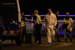 Imágenes del atentado en Cambrils