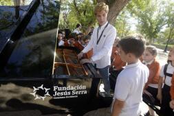 Los pianos de cola, por las calles de Toledo
