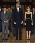 Los Reyes llegan a Oviedo para presidir los Premios Princesa de Asturias, en imágenes