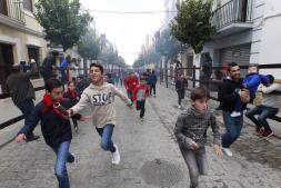Encierro infantil en La Puebla del Río