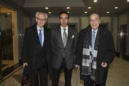 En imágenes: así ha sido la entrevista entre Vargas Llosa y Bieito Rubido