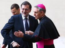 En imágenes: la reunión del Papa con los 27 líderes de la Unión Europea